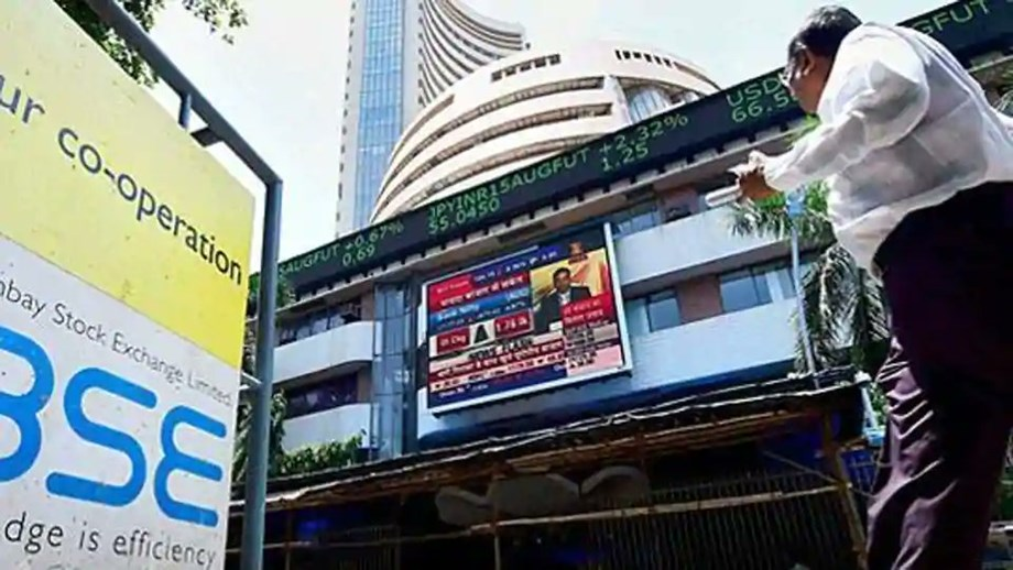 Sensex, Nifty surge; Rupee stabilizes with low oil prices
