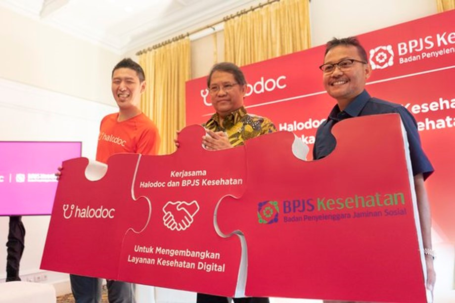 Indonesia's Largest Single-payer System BPJS Kesehatan Teams up with Local Health Apps Startup Halodoc to Improve Equal Access to Health Care Across the Country