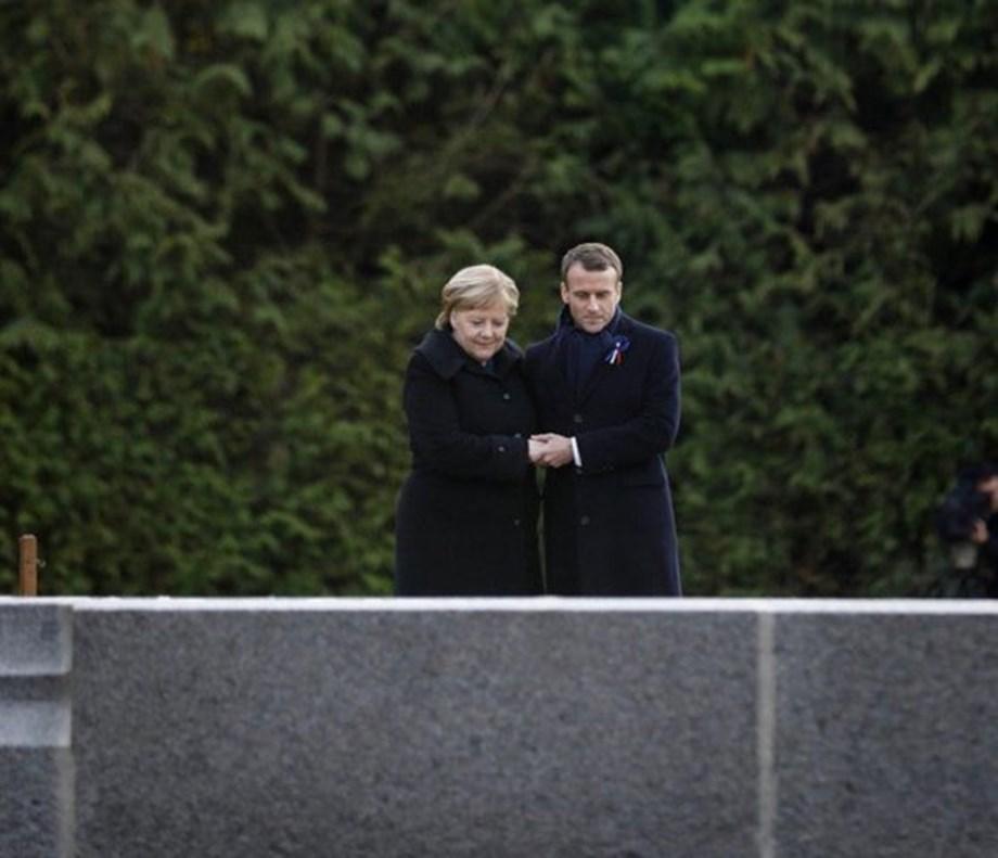 World leaders commemorate 100th anniversary of WW1 Armistice in Paris