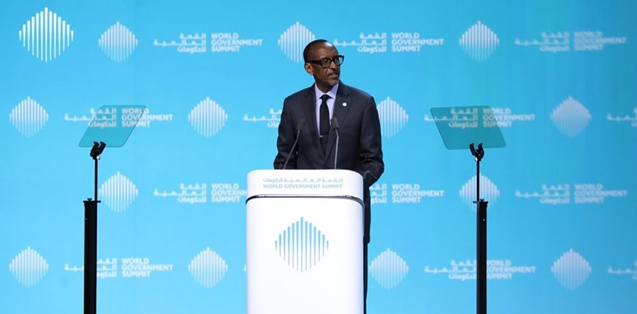 World Government Summit: Paul Kagame summons youth presence in governance matters