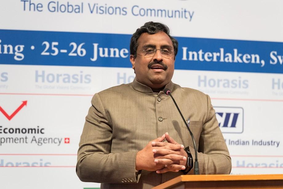 BJP general secretary Ram Madhav holds talk with IPFT leaders for two Lok Sabha seats