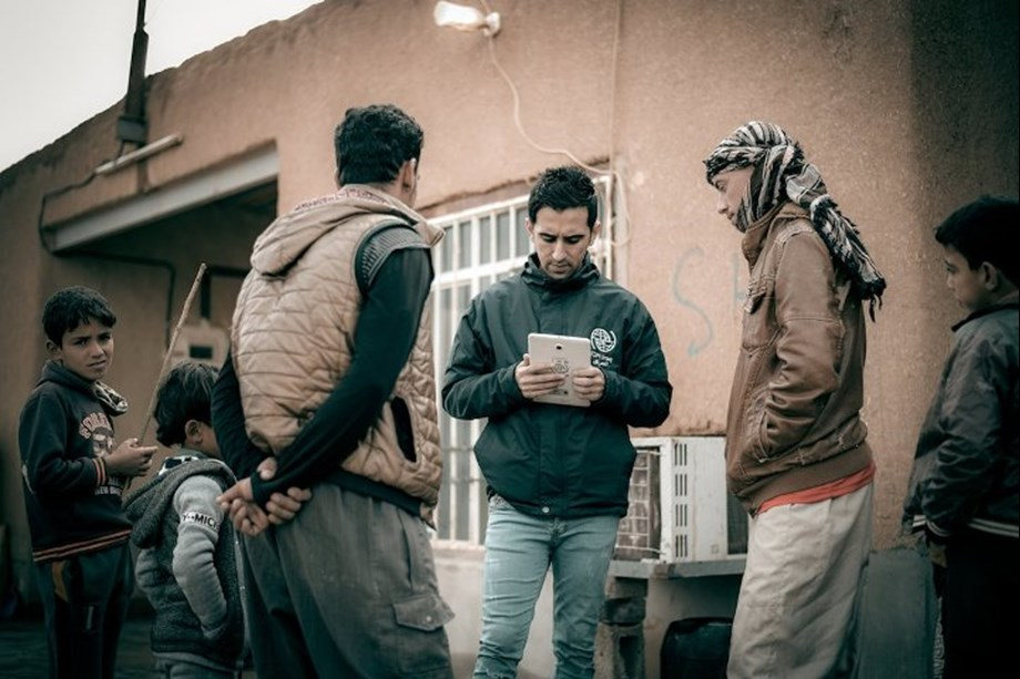 IOM study conducts with nearly 4,000 displaced families living out of camps in Iraq