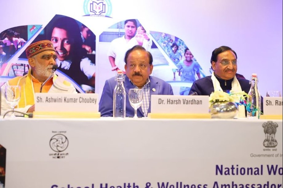 School Health Programme to boost concept of positive health: Dr. Harsh Vardhan