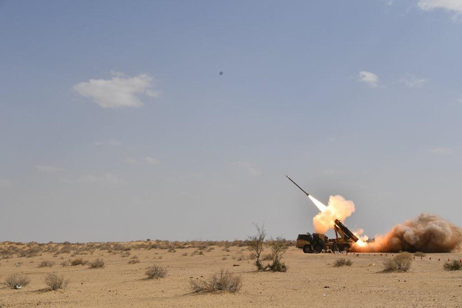 'Pinaka' successfully tested-fired by DRDO in Pokhran desert