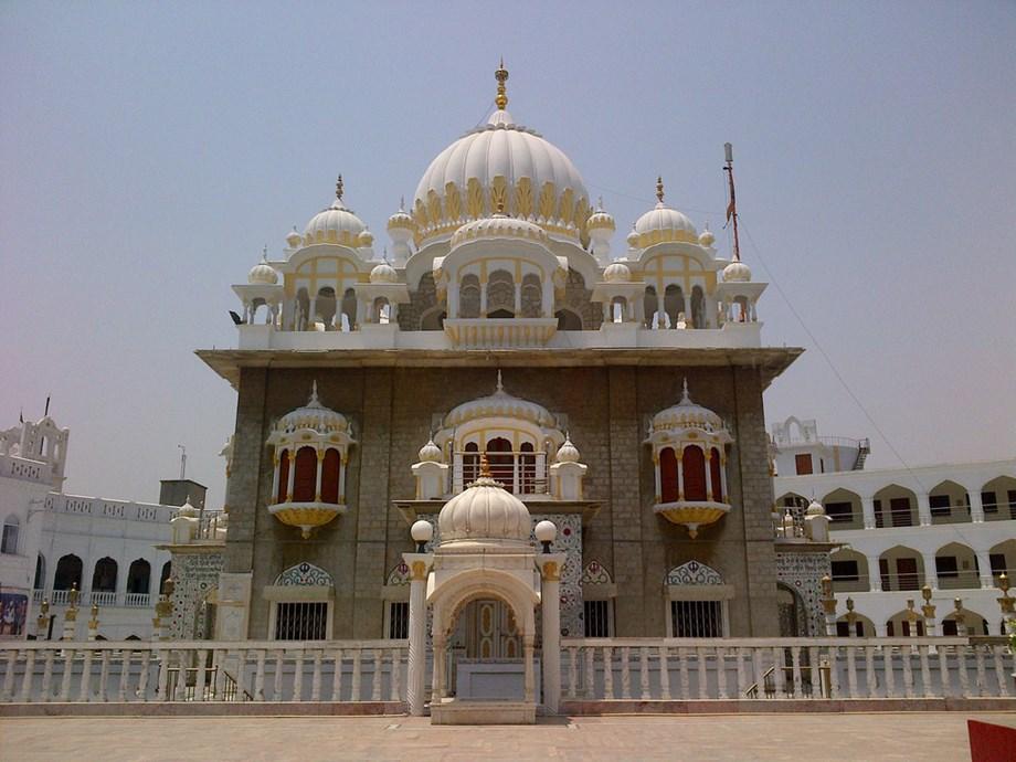 Hundreds of Sikh devotees start journey for Gurdwara Panja Sahib in Pakistan