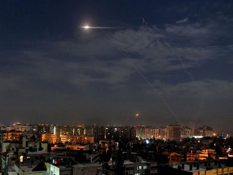 Israel fires missiles at border town in southern Syria