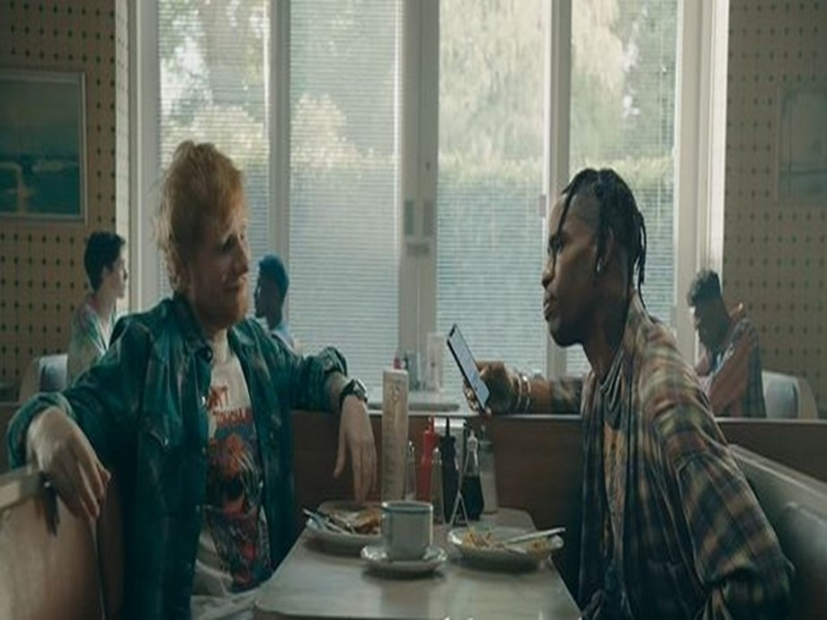 Ed Sheeran drops new music video with Travis Scott