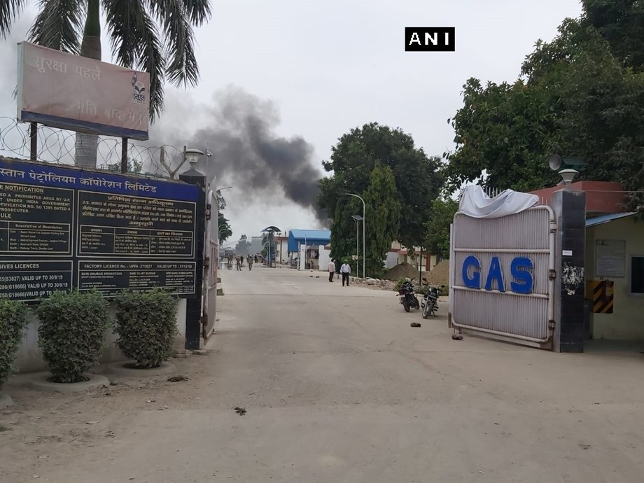 Unnao HP gas tank explosion: Nearby villages evacuated; trains halted
