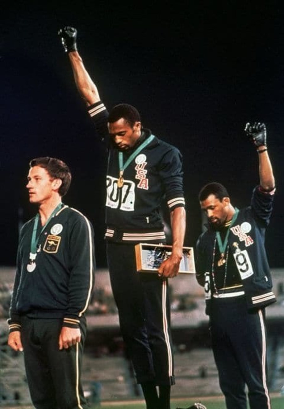 Puma to mark 50th anniversary of Tommie Smith's black-gloved salute