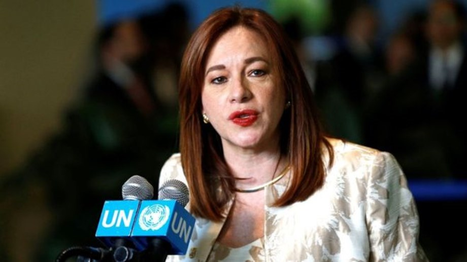 UNGA chief Espinosa says zero tolerance for sexual harassment of journalists