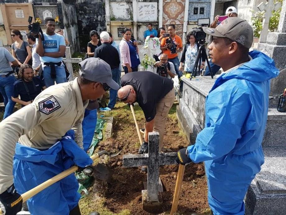 Remains of Julius Kroehl US submarine innovator exhumed in Panama