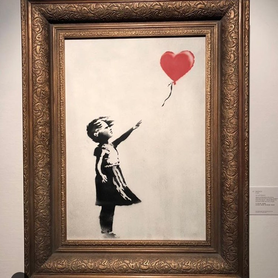 Banksy didn't destroy an artwork in the auction, he created one,says  Alex Branczik