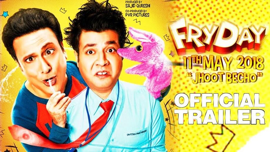 Govinda's 'FryDay' Reviews: Slapstick but entertaining (IANS Review, Rating: **1/2)