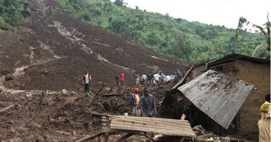 UPDATE 1-Landslide in eastern Uganda destroys homes, killing at least 31