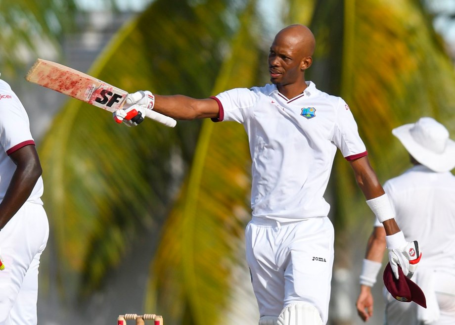 Hyderabad Test: Roston Chase's heroics takes West Indies to 295/7 on Day-1