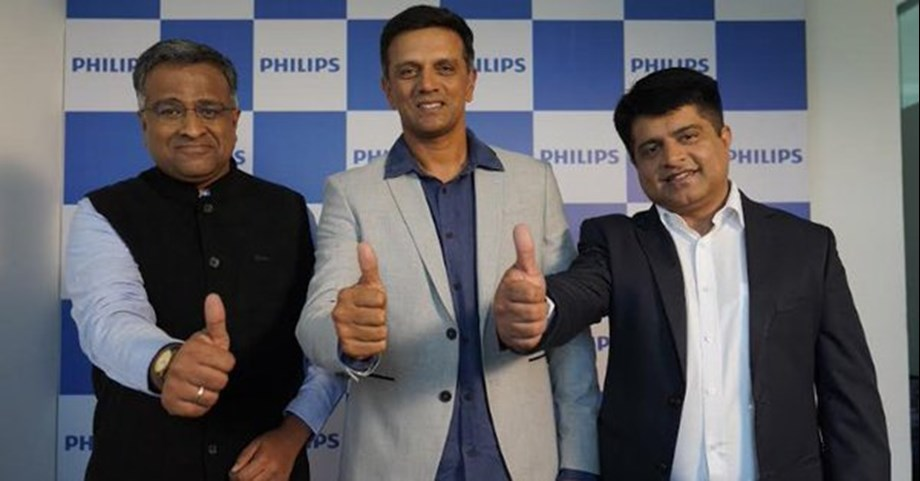 Rahul Dravid as new brand ambassador for Philips air purifiers