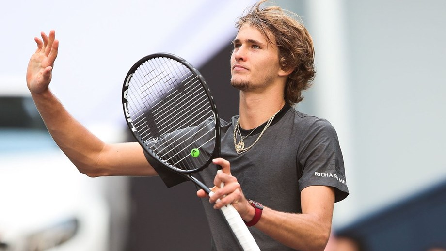 Tennis player Alexander Zverev blames 'superstition' of using towels in the game