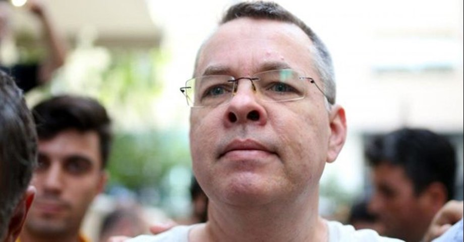 UPDATE 7-US pastor Brunson arrives home in Turkey after release by court