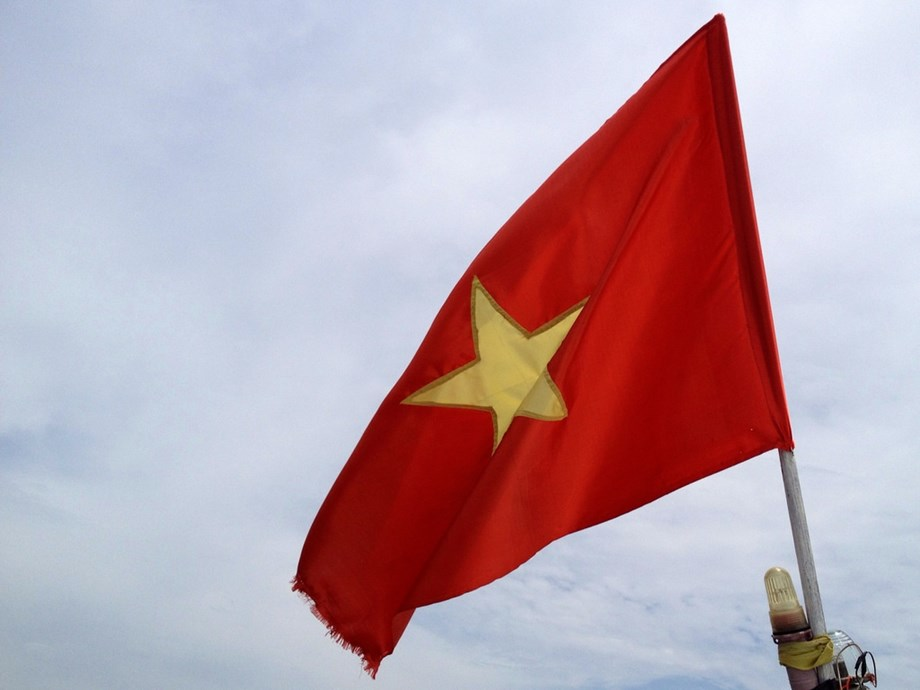 Activist jailed for spraying paint on Vietnamese flags