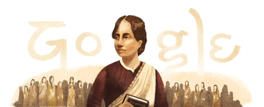 Kamini Roy – Google honors the great Bengali poet on her 155th birthday