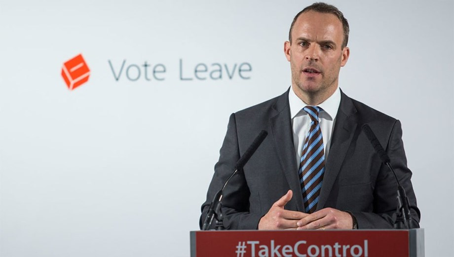 Dominic Raab S Thumbs Up After Cabinet Meeting On Talks With Eu