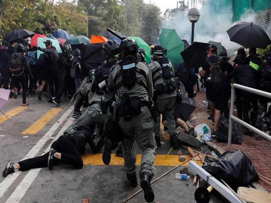 UPDATE 3-U.S. Senate unanimously passes Hong Kong rights bill backing protesters