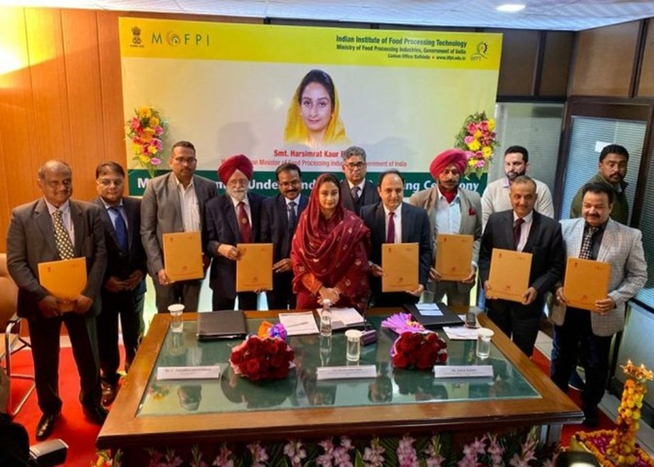 Image result for IIFPT Bathinda signs MoUs with region's 8 institutes