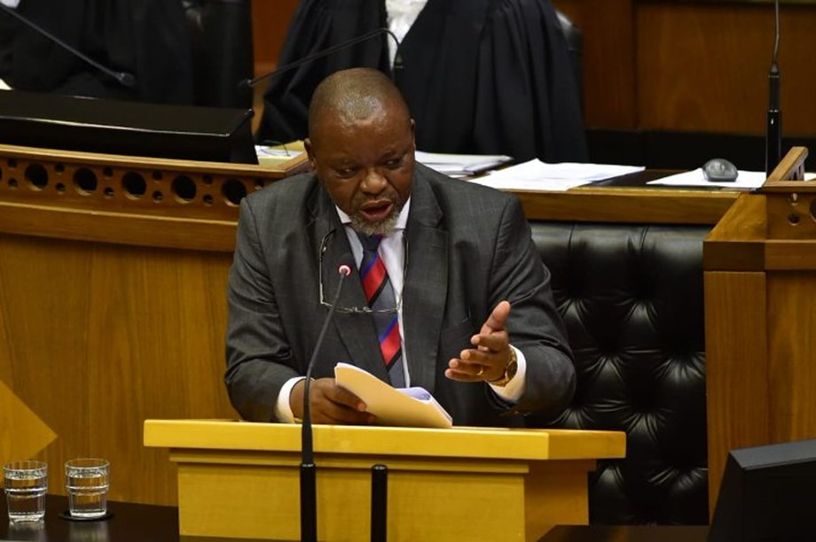 Department intends to secure 5% of global exploration budget: Gwede Mantashe