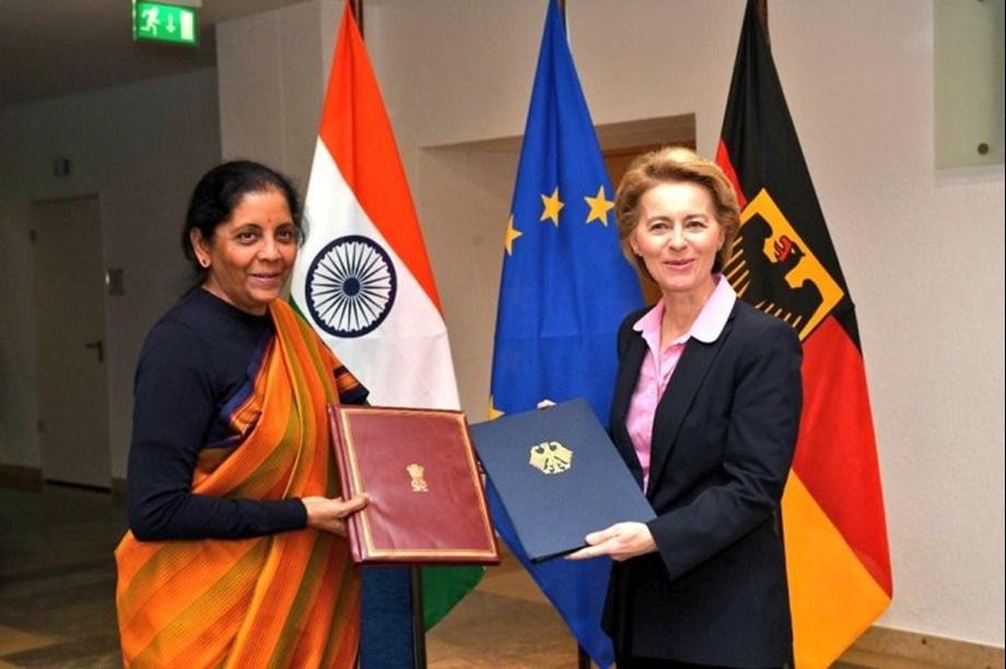Raksha Mantri signs arrangement with Germany on enhanced Defence Industry