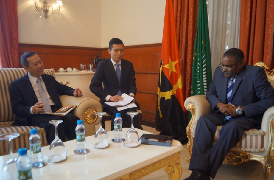 Chinese ambassador Cui Aimin declares new investment in Angola