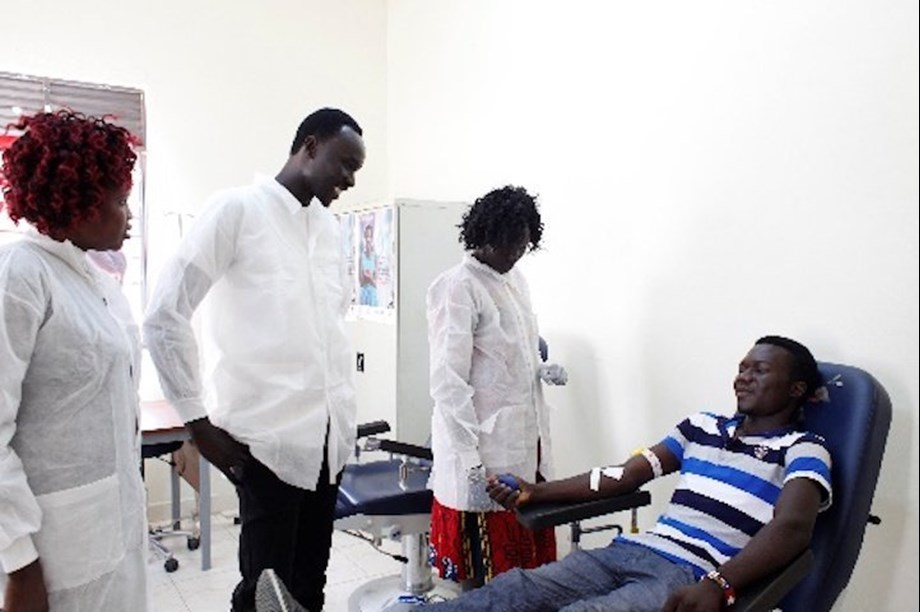 Japan supports WHO South Sudan with funds for universal access to blood