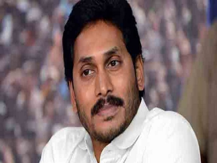 Andhra leader of opposition cast vote to seek re-election from Pulivendula