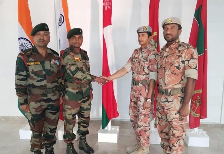 Indo-Oman joint military Exercise Al Nagah III 2019 begins at HQ Jabel Regiment