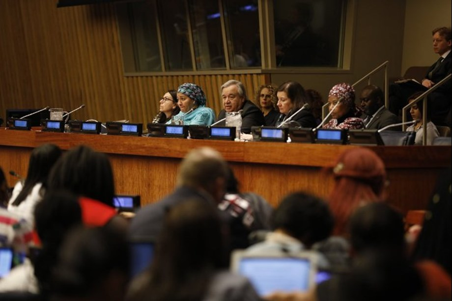 'Central question of gender equality is question of power' says UN chief