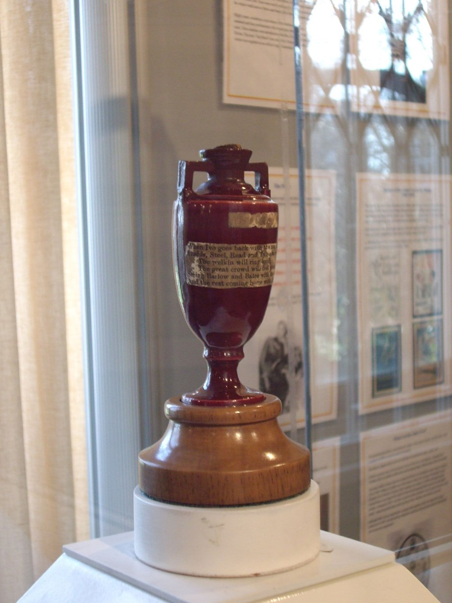 Ashes urn to travel Australia for first time in 12 years
