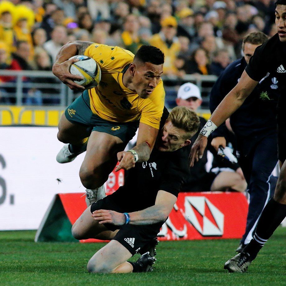 Read all about Wallabies fullback Israel Folau's ups and lows