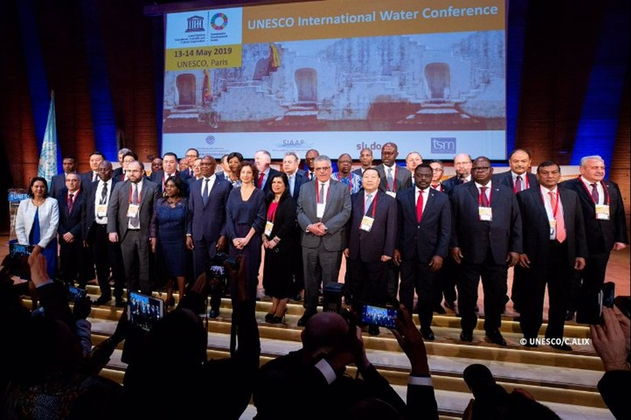 UNESCO Water Conference brings together Ministers from 40 countries