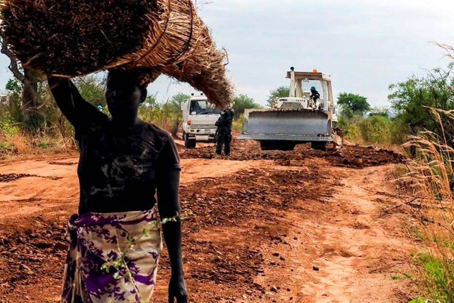 Efforts of engineers, UNMISS to repair supply routes to benefit South Sudan