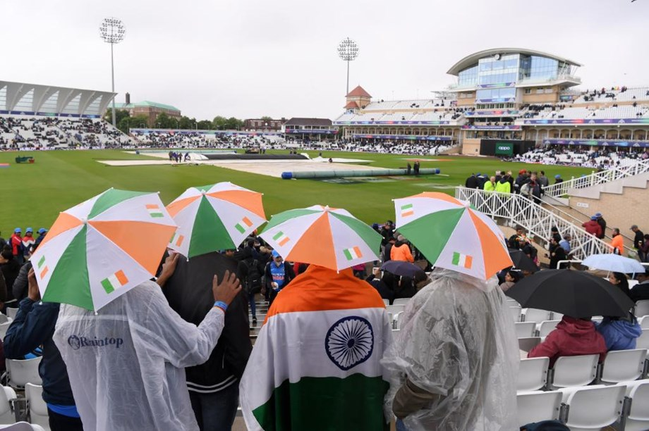 CWC'19: India-New Zealand match abandoned due to rain