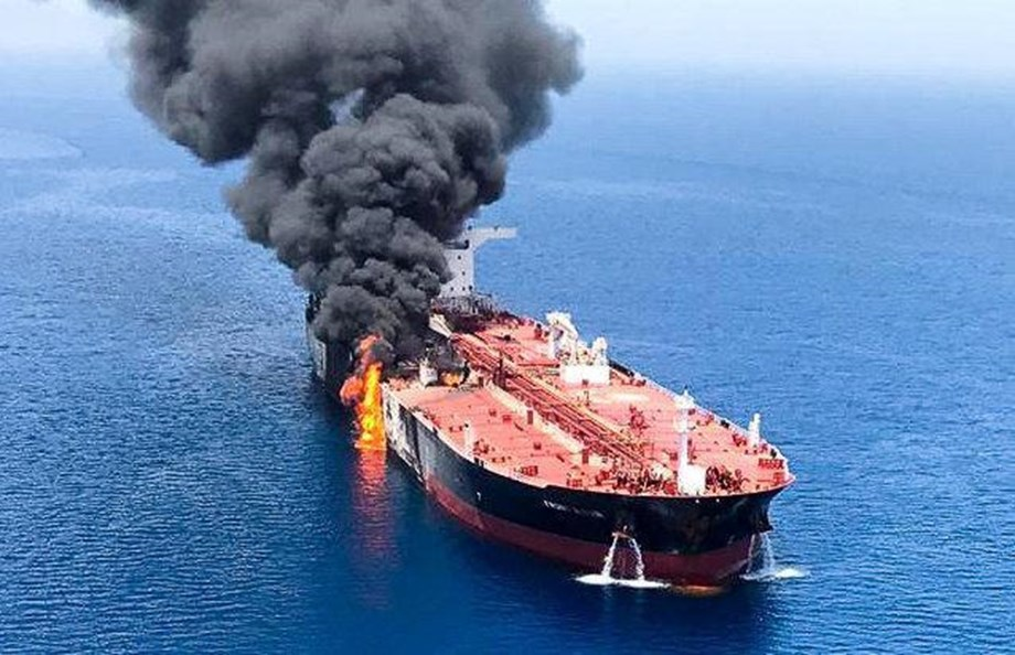 China calls for restraint after oil tanker attacks in Gulf of Oman