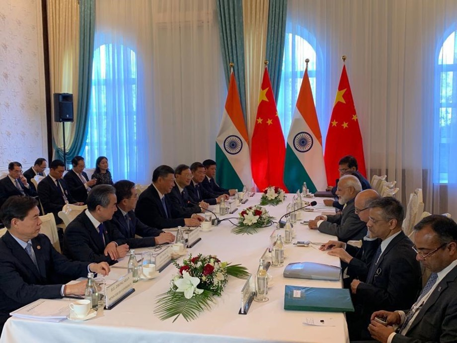PM Modi holds 'extremely fruitful meeting' with Chinese President Xi