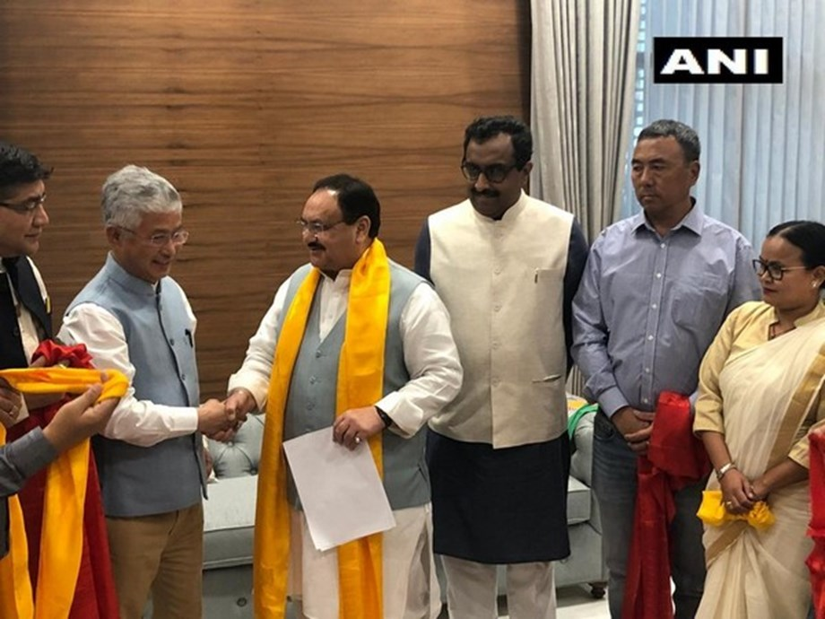 BJP now main opposition party in Sikkim with 10 SDF MLAs joining its fold