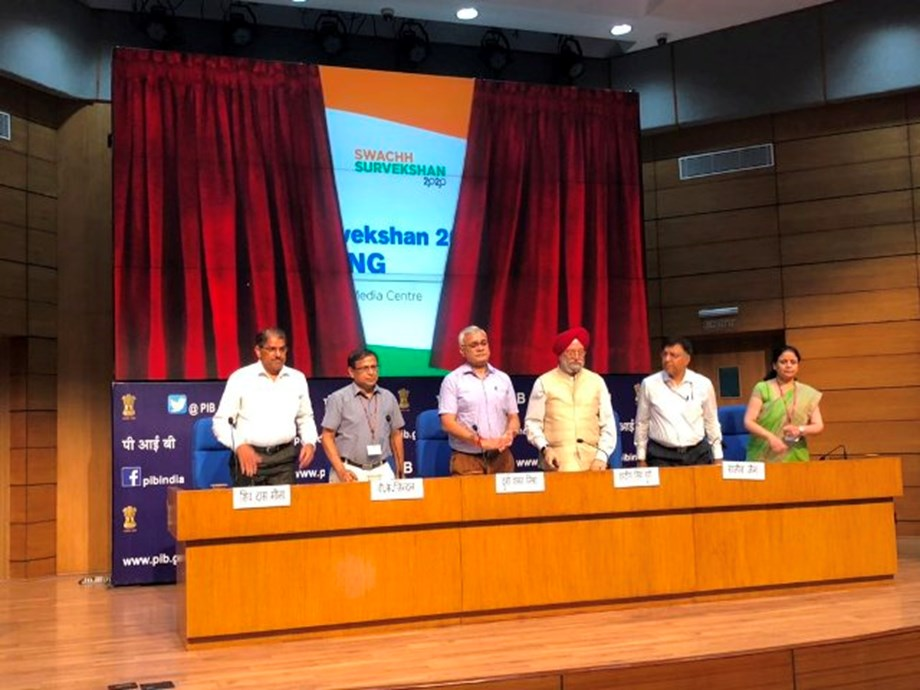 Minister launches Swachh Survekshan 2020 Toolkit contains survey methodology