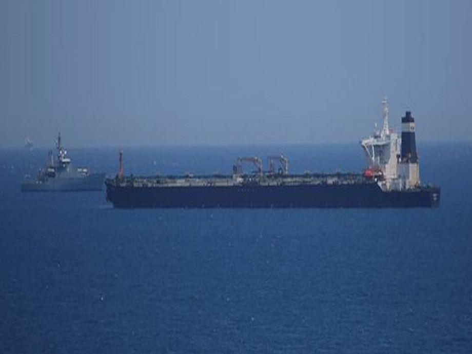 Iran tanker can leave when ready, U.S. legal block still looms -Gibraltar