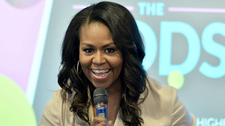"""Michelle Obama rips Prez Trump for """"birther"""" conspiracy theory"""