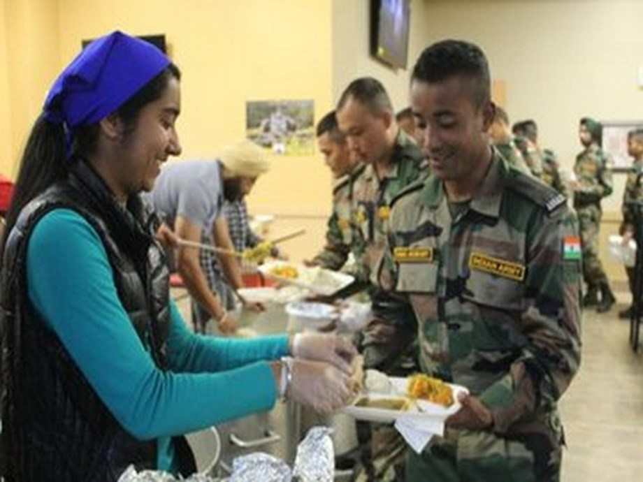 Indian, American personnel served 'langar' by Sikh locals during military exercise