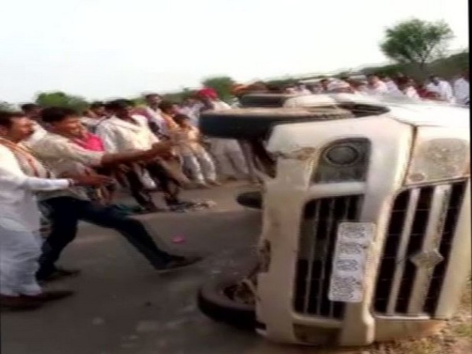 Rajasthan: Men thrashed by mob in Ajmer after accident