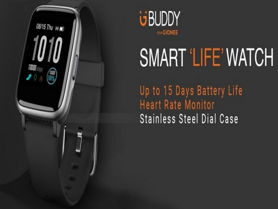 Gionee India expands its G Buddy Portfolio with Smart 'Life' Watch