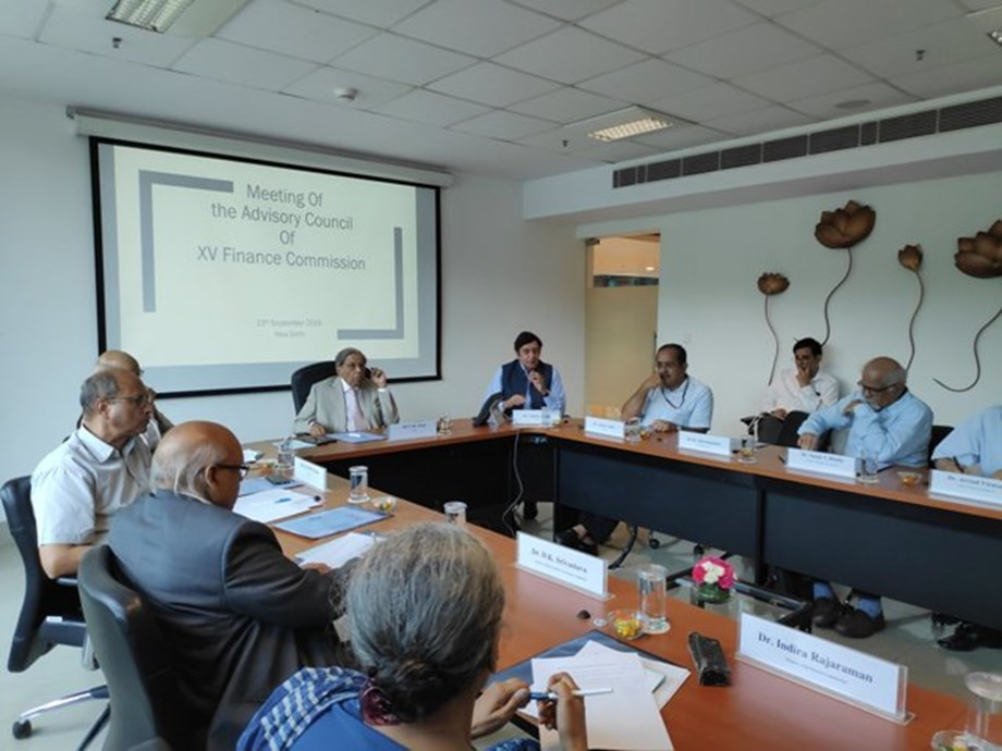 4th Advisory Council meeting of Finance Commission held to discuss memorandum