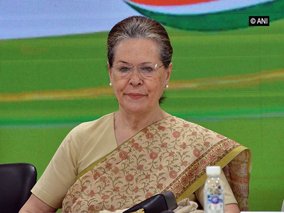 Sonia Gandhi reviews implementation of key manifesto commitments in Congress-ruled states